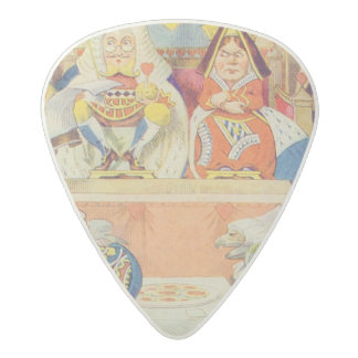 The Trial of the Knave of Hearts Acetal Guitar Pick