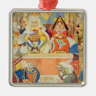The Trial of the Knave of Hearts Christmas Ornament