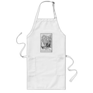 The Trial of the Knave of Hearts Long Apron