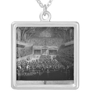 The Trial of Warren Hastings Silver Plated Necklace