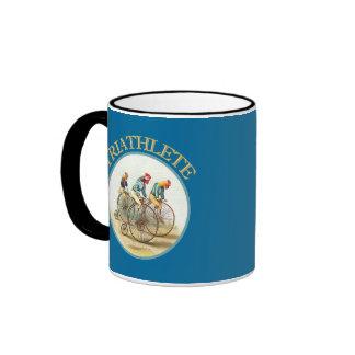 The Triathlon of Chickens Coffee Mug