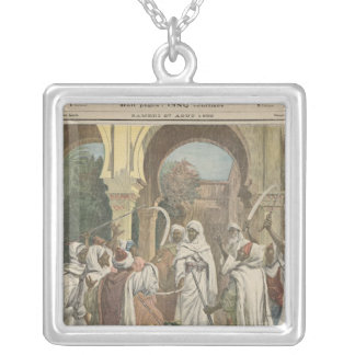 The Tribal Chiefs Swearing Fidelity to the Square Pendant Necklace