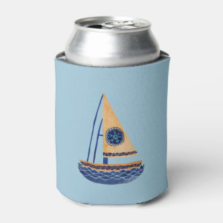 The Tribal Sailboat Can Cooler