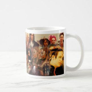 The Tribe Series 4 Collage Basic White Mug
