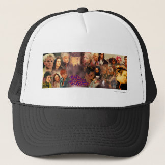 The Tribe Series 4 Collage Trucker Hat