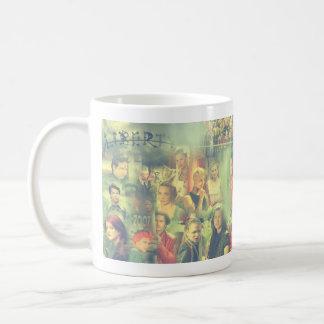 The Tribe Series 5 Collage Basic White Mug