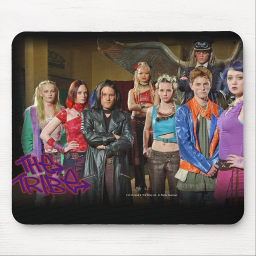 The Tribe Series 5 group shot part 1 Mousepad