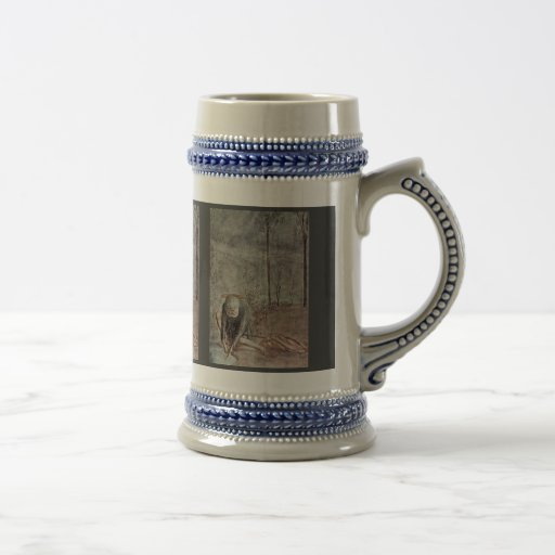 The Tribute Money  By Masaccio (Best Quality) Beer Steins