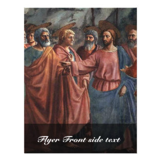 The Tribute Money By Masaccio Best Quality Flyer
