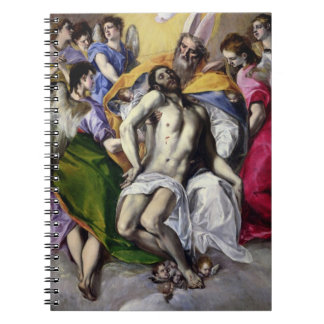 The Trinity, 1577-79 (oil on canvas) Note Book