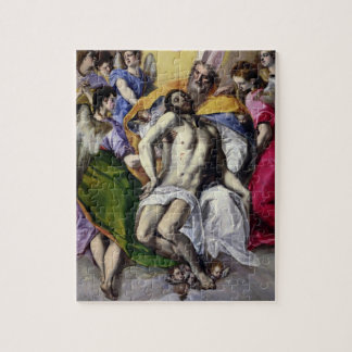The Trinity, 1577-79 (oil on canvas) Puzzle