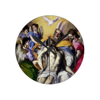 The Trinity, 1577-79 (oil on canvas) Wall Clocks