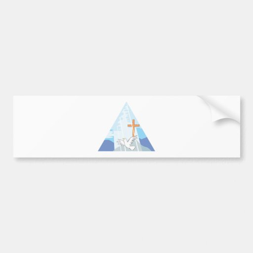 The Trinity - God the Father Son and Holy Spirit Bumper Stickers