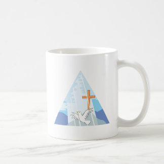 The Trinity - God the Father Son and Holy Spirit Classic White Coffee Mug