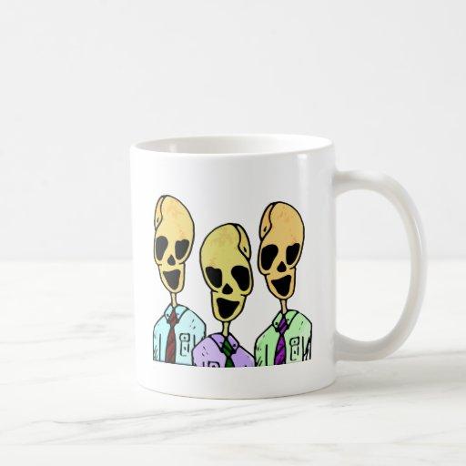 The trio coffee mugs
