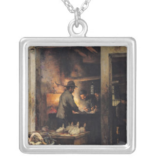 The Tripe Butchers Silver Plated Necklace