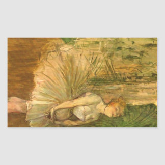 The Tripper by Toulouse-Lautrec Sticker