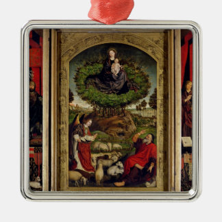 The Triptych of Moses and the Burning Bush Christmas Ornament