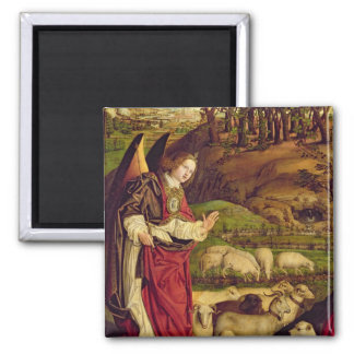 The Triptych of Moses and the Burning Bush Magnet