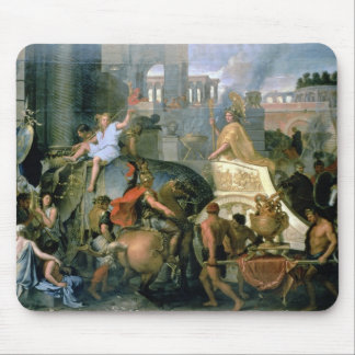 The Triumph of Alexander, or the Entrance of Alexa Mouse Mat