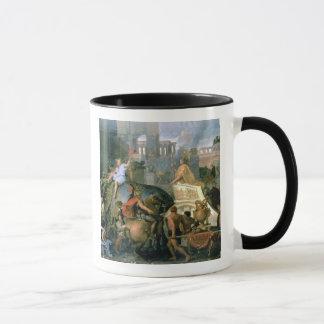 The Triumph of Alexander, or the Entrance of Alexa Mug