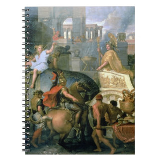 The Triumph of Alexander, or the Entrance of Alexa Notebook
