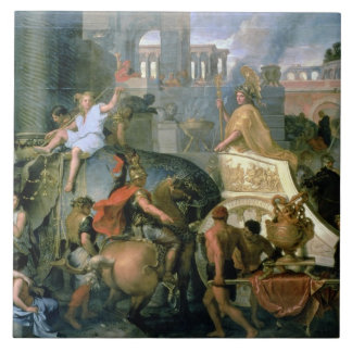 The Triumph of Alexander, or the Entrance of Alexa Tile