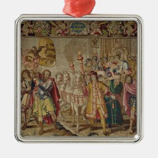 The Triumph of Charles V Christmas Ornament