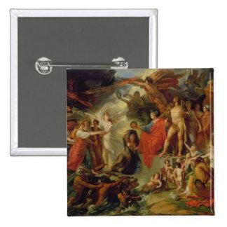 The Triumph of Civilization, c.1794-98 15 Cm Square Badge