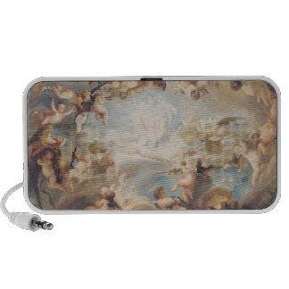 The Triumph of Cupid over all the Gods, 1752 Laptop Speakers
