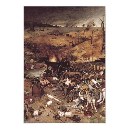 The Triumph of Death by Peter Bruegel Invite