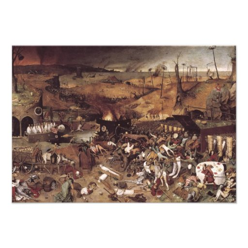 The Triumph of Death by Peter Bruegel Personalized Invite