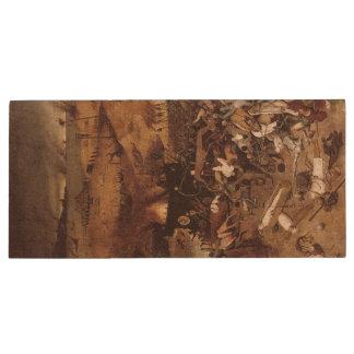 The Triumph of Death by Peter Bruegel Wood USB 3.0 Flash Drive