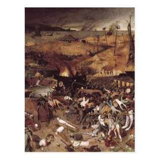 The Triumph of Death by Peter Bruegel Postcard