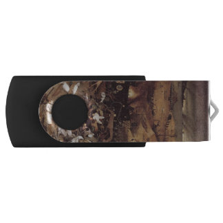 The Triumph of Death by Peter Bruegel Swivel USB 2.0 Flash Drive