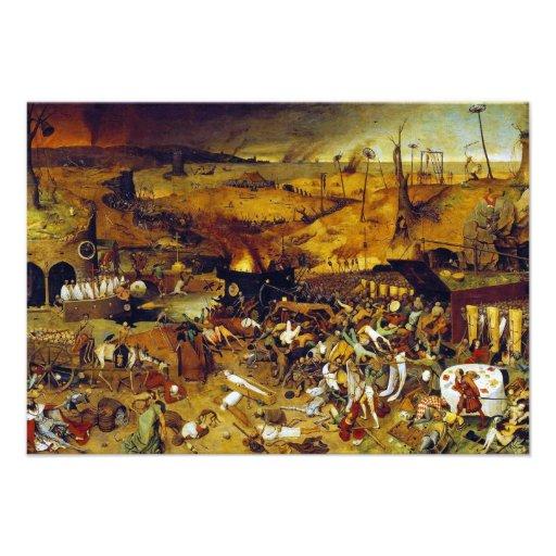 The Triumph of Death by Pieter Bruegel the Elder Personalized Invite