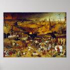 The Triumph of Death by Pieter Bruegel the Elder Poster