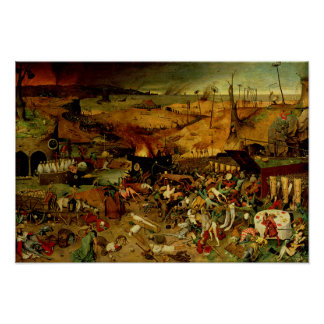 The Triumph of Death, c.1562 (oil on panel) Poster