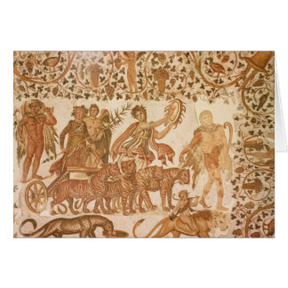 The Triumph of Dionysus Greeting Card