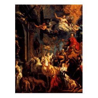 The Triumph of Frederic-Henri by Jacob Jordaens Postcard