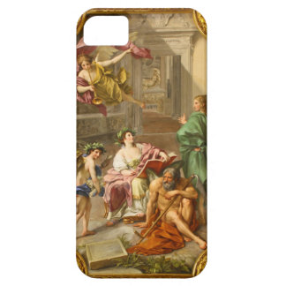 The Triumph of History over Time by Anton R Mengs iPhone 5 Cover