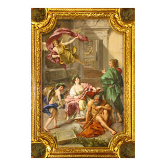 The Triumph of History over Time by Anton R Mengs Art Photo