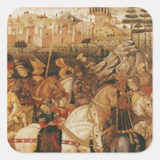 The Triumph of Julius Caesar Square Sticker