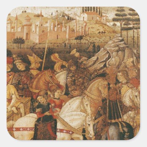 The Triumph of Julius Caesar Stickers