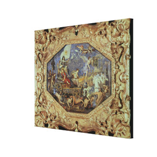 The Triumph of Louis XIII  over Enemies Canvas Print