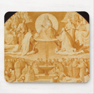 The Triumph of Religion in the Arts, before 1840 Mouse Mat