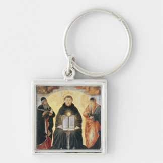 The Triumph of St. Thomas Aquinas Key Ring