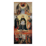 The Triumph of St. Thomas Aquinas Print