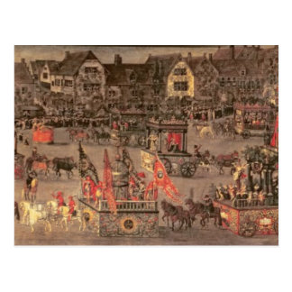 The Triumph of the Archduchess Isabella (1556-1633 Postcard