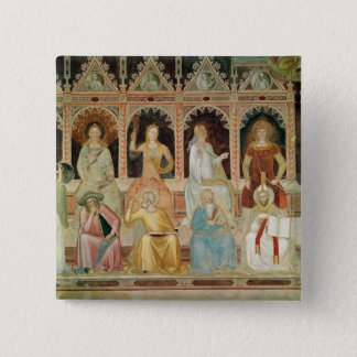 The Triumph of the Catholic Doctrine 15 Cm Square Badge